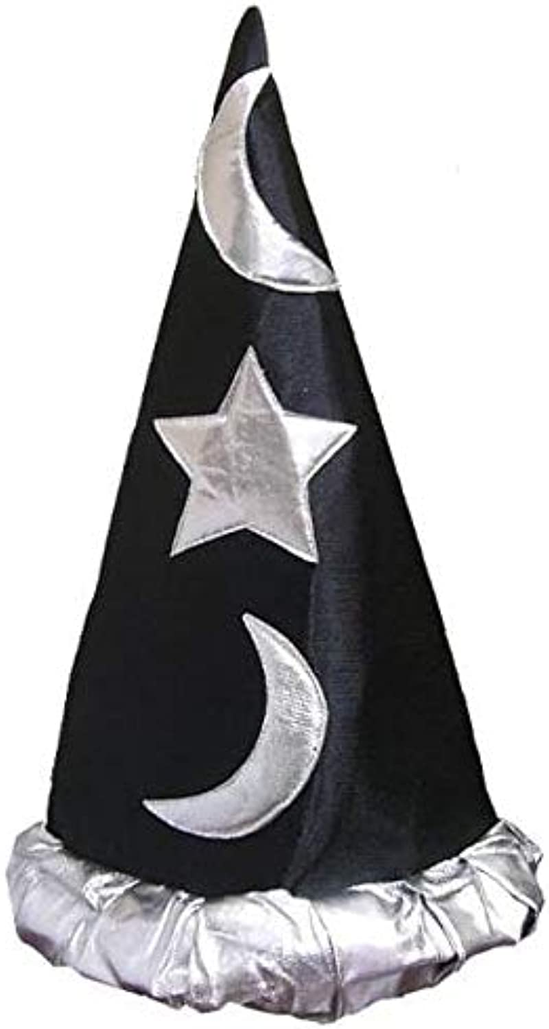 Forum Novelties Inc. Rubies Wizard Hat  Black & Silver One Size