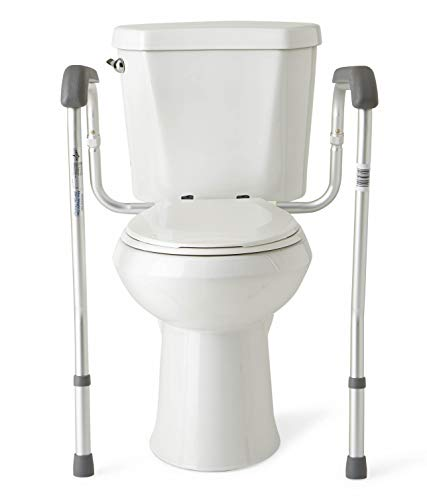Medline Toilet Safety Rails, Safety Frame for Toilet