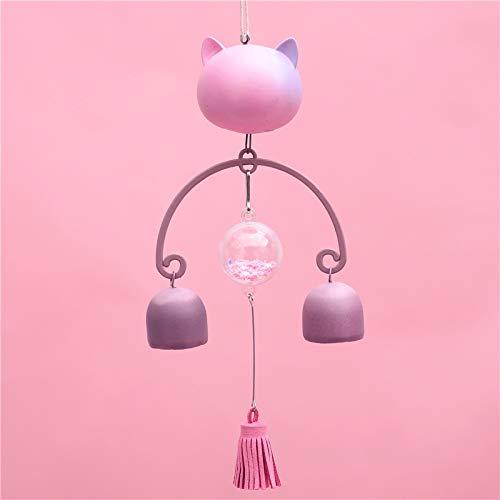 schattig magie vrienden kat wind bel japanse en wind opknoping deurbel hanger
