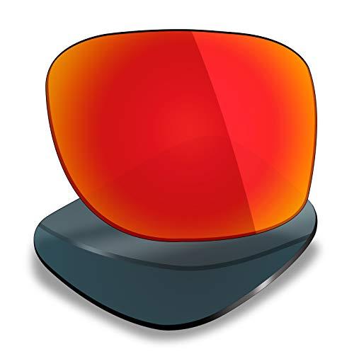 Mryok Lentes de repuesto para Maui Jim Tail Slide - Opciones, Polarizado - Rojo Fuego, Talla única
