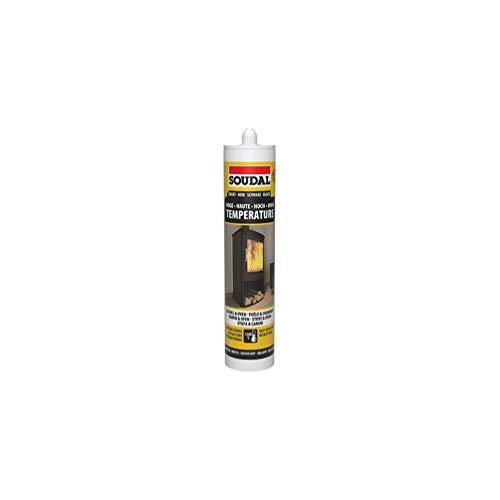 Soudal Outillage 3682 - Masilla refractaria, 290 ml