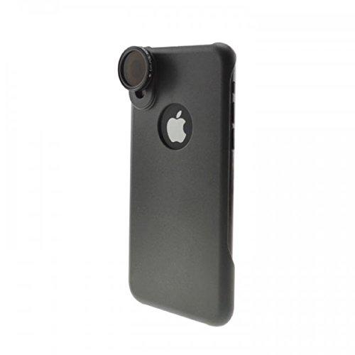 System-S - Lente filtro polarizzazione (CPL) con custodia protettiva per iPhone X