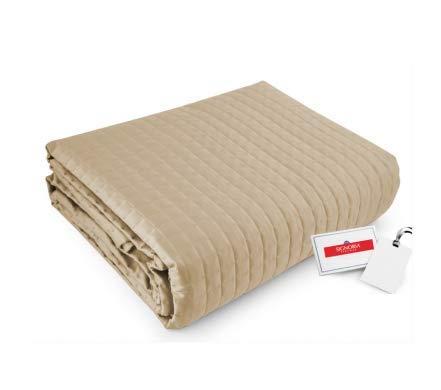 Signoria Firenze Colcha para cama individual Masaccio Flax