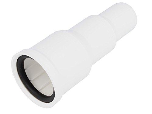 tecuro Übergangsstutzen - Reduzierung von Ø 50-40 - 32 mm - KS-weiß