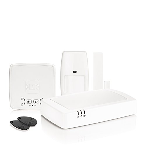 Honeywell Home HS922GPRS Sistema de Alarma IP inalámbrica gestionable de Remoto y GPRS, Color Blanco