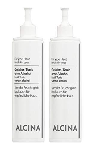 2er B Gesichts Tonic ohne Alkohol pflegende Kosmetik Alcina spendet Feuchtigkeit je 200 ml = 400 ml