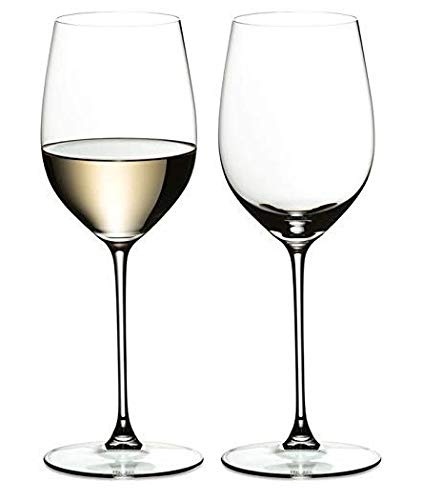 Ash & Roh Wine Glass - Ideal for White or Red Wine Party Glass, Whisky Glass, Clear Glass, 400 ml, Set of 2