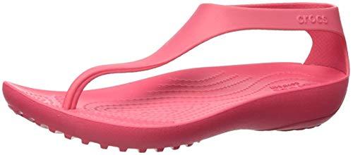 Crocs Serena Flip Women, Sandalias de Punta Descubierta Mujer