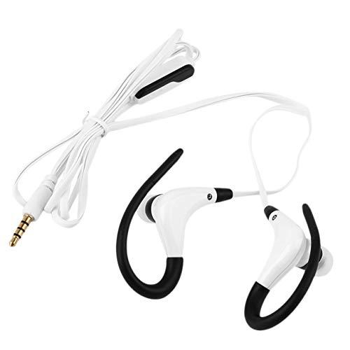 WOSOSYEYO Deportes en la Oreja Correr Auriculares Activos Auriculares Enganchar Auriculares Auriculares Cancelación de Ruido Auriculares en los oídos para teléfonos móviles