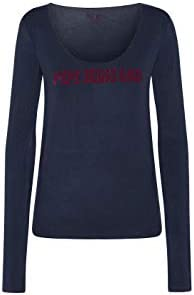 Pepe Jeans Camiseta de Manga Larga Mada Marino para Mujer