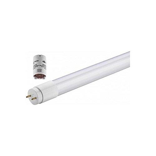 Tubo LED vidrio 90 cm Casquillo G13 T8, 14 W 1200 lúmenes, AC 180 - 265 V 50/60Hz, luz blanco frío 6500 K, haz luz 270 ° CRI 80, certificado C y, RoHS, diámetro 30 mm, longitud 906 Mm