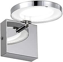 Gris Vanity Lights LED Vanity Light for Bathroom, 1 LED Light Up or Down Rotated Vanity Light Fixtures for Bathroom or Bedroom