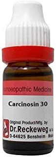Dr. Reckeweg Carcinosin 30 CH (11ml)- Pack Of 1 Bottle & (Free St. George's Homeopathic ALOE VERA OINTMENT (1 pcs of 10g)...