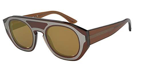 Giorgio Armani Sonnenbrille AR8135 58197D Brille Herren Farbe Braun Linse marrone Größe 47 mm