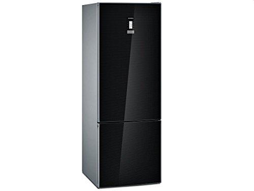Siemens iQ700 Home Connect KG56FSB40 Kühl-Gefrier-Kombination / A+++ / Kühlteil: 375 L / Gefrierteil: 105 L / schwarz / NoFrost / HyperFresh premium / BigBox