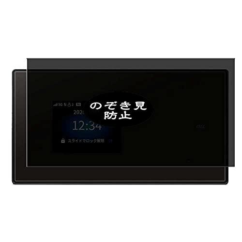 VacFun Anti Espia Protector de Pantalla, compatible con Speed Wi-Fi 5G X01, Screen Protector Filtro de Privacidad Protectora(Not Cristal Templado)