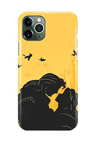Caso di Telefono per iPhone 11 Beauty And The Beast Disney 7 Disegni