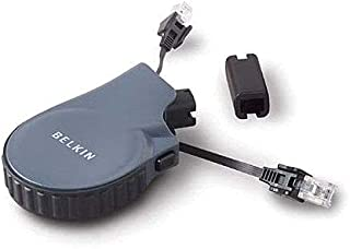 Belkin F8V074 10FT Retractable Modem Cable, RJ11 (with E-Coupler)