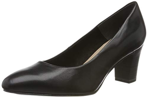 Tamaris Damen 1-1-22435-23 Pumps, Schwarz (Black 1), 40 EU