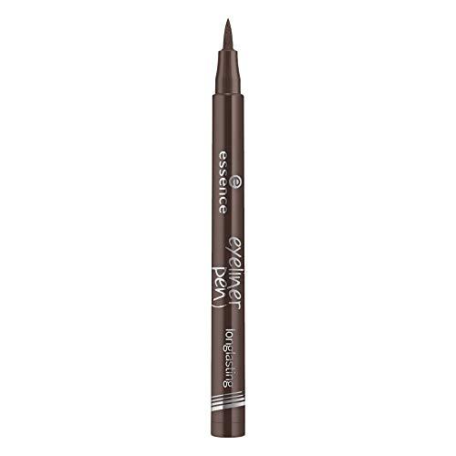 Eyeliner marrón rotulador de larga duración 03 - essence.