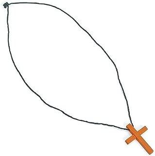 wooden cross necklace bulk