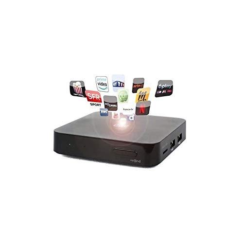 CGV Expand 70071 - Caja híbrida para Android y TV, Color Negro
