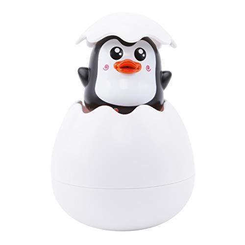 VWH Bad Spielzeug Ente Pinguin Ei Wasser Spray Sprinkler Dusche Spielzeug Kinder Geschenk (Pinguin)