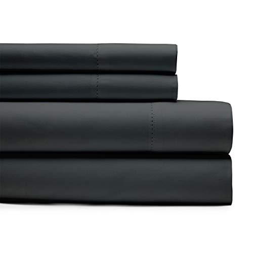 Jogo de cama Kotton Culture 1000 fios com 4 peças premium 100% algodão egípcio bolso profundo sólido luxuoso Hotel Class Bedding Super, Cinza, King Sheet Set (4 Pc)