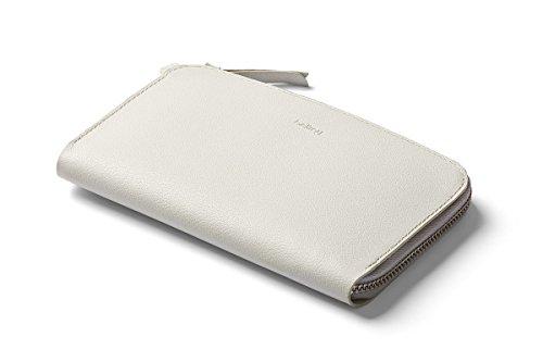 Bellroy Pocket, Damen Leder Geldbörse (für 6 Karten, Bargeld, Smartphone)-Alabaster