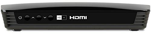 TechniSat EUROTECH 2 HD+ HD Sat-Receiver (mit integriertem HD+ Entschlüsselungssystem, inkl. HD+ Smartcard) schwarz