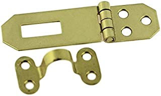 Solid Brass Decorative Hasp_Flat Back_3-3/4