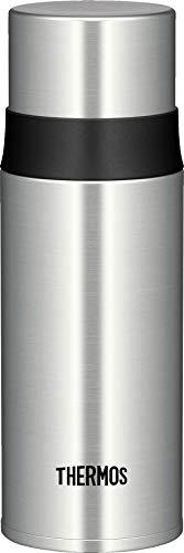 THERMOS 4037.205.035 Thermosflasche Ultralight, Edelstahl mattiert 0,35 l, extrem leicht, nur 240 g, 16 Stunden heiß, 24 Stunden kalt