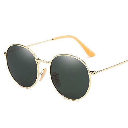 Modische Sonnenbrille Runde Polarisierte Sonnenbrille Frauen Markendesigner Sonnenbrille Männer Süßigkeiten Linse Retro Brille 1