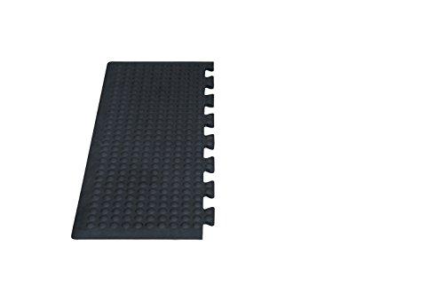 Miltex 17030Tappetino da Yoga Flex Industrie, Sfera, VE 2Pezzi, 80x 30cm, Nero