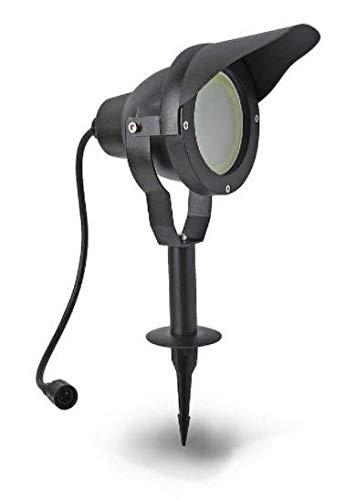 Easy Connect - LED Strahler schwarz Erdstrahler Gartenstrahler IP67