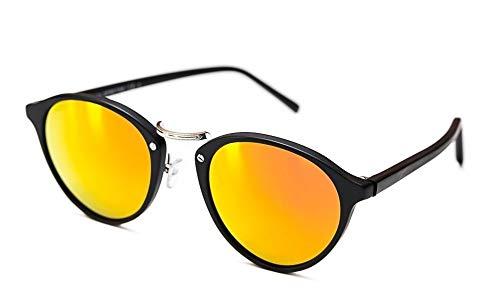 Spektre Sonnenbrille AUDACIA, Damen Black/Orange Mirror