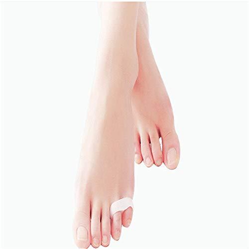 Abrahmliy teenbescherming voor dames en heren, kleine teen Varus overlappte scheiding, toe-beschermer, dubbele ring, toe splitter, sweatbestendig, flexibele elastische volwassenen voor bescherming van de tenen