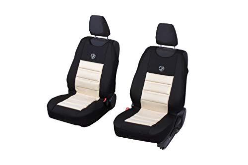 Universele bekleding polyester velours voor Nissan Micra een set voorstoelen 2 stuks SPHINX
