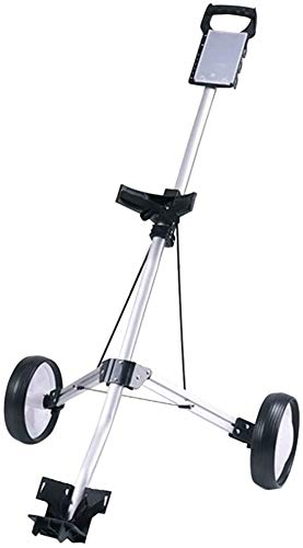 Find Discount RAFFISH Professional Golf Cart New 2/3-Wheel Foldable Trolley, Golf Trolley One Second...