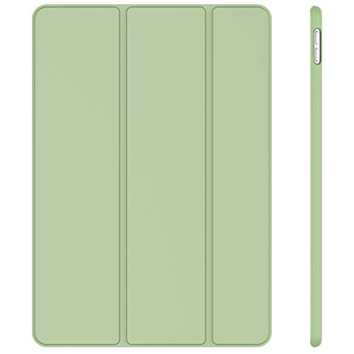 JETech Case for iPad Air 3rd generation 10.5 (2019) and iPad Pro 10.5 (2017), Cover with Auto Wake/Sleep (Matcha Green)