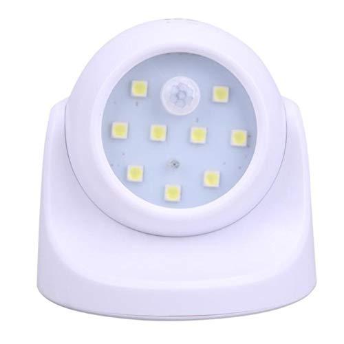 Hjdmcwd Night Light Motion Sensor 360 Degress Night Light 9 LED Lamp Motion Activated Wirless Sensor Light For Home Outdoor Wall Room Lighting (Color : 2pcs, Emitting Color : White)