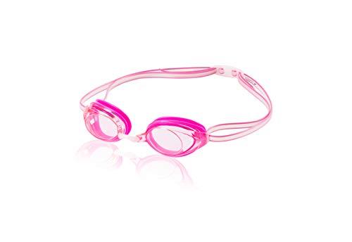 Speedo Jr. Vanquisher 2.0 Swim Goggles, Pink, One Size