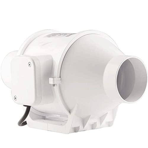 Extractor De Aire, Extractor Cocina Aficionado ático, ventilador de escape de ventanas Ventilador de escape ventilador ventilador 3 pulgadas, ventilador del conducto con interruptor de velocidad de do