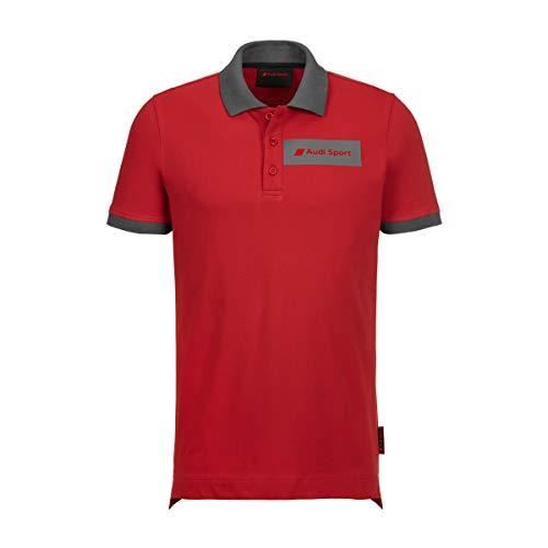 Audi Sport Polo Shirt Herren (L)