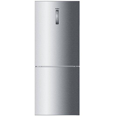 Haier C3FE744CMJ Autonome 450L A++ Acier inoxydable réfrigérateur-congélateur - Réfrigérateurs-congélateurs (450 L, SN-T, 12 kg/24h, A++, Nouvelle zone compartiment, Acier inoxydable)