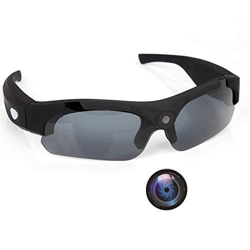 OOLIFENG Gafas De Cámara Espía, Anteojos Ocultos Full HD 1080P con Gran Angular Mini Cámara para Deportes Al Aire Libre