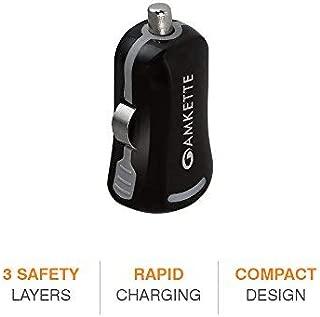 Amkette Power Pro Compact Rapid Car Charger (Black)