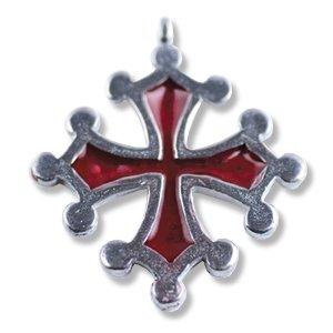 Lazell Historic Anhänger Das Okzitanische Kreuz