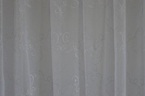 Aanbieding gordijnen wit Lametta 4,00 x hoog MT 3,00 ART CORINNE
