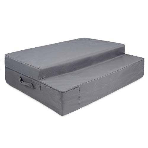 Milliard Case for Blue Tri-Fold Foam Folding Mattress and Sofa Bed for Guests (Queen)